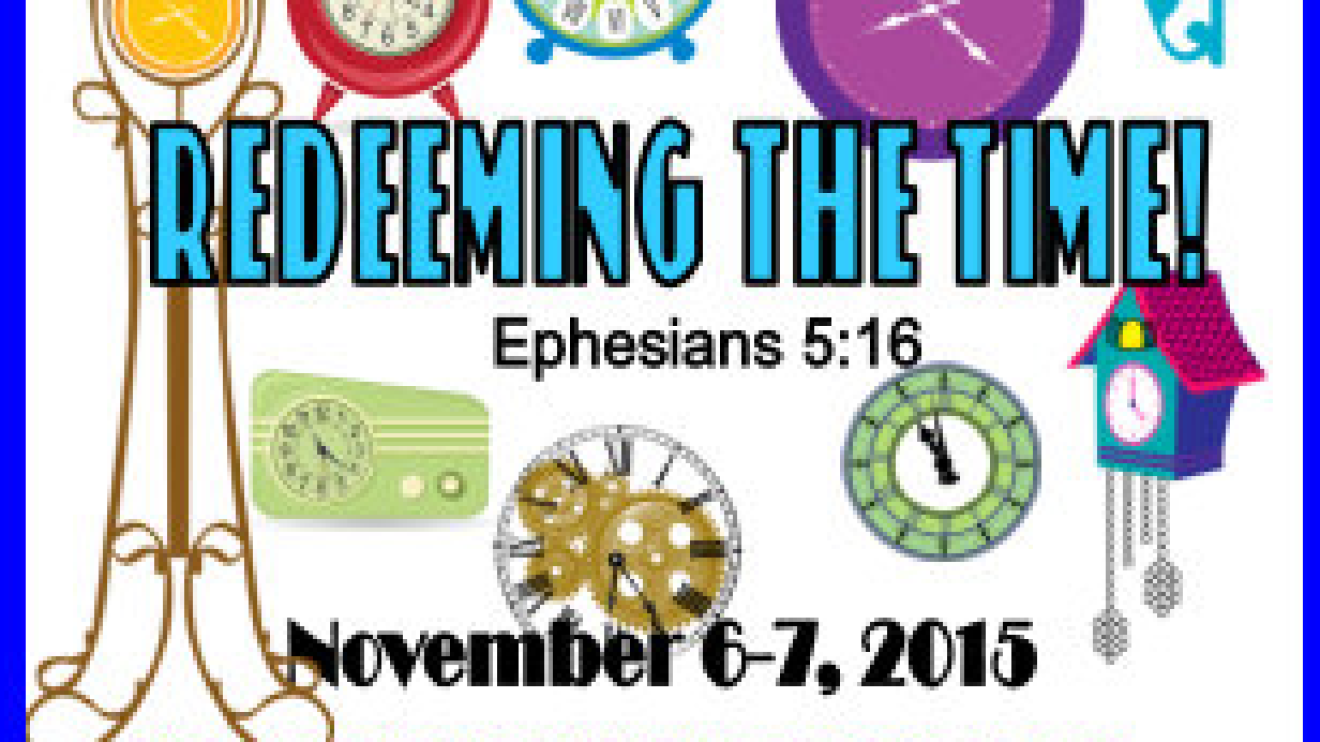 Ladies Conference November 6-7, 2015