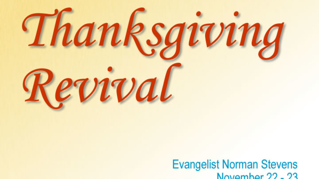 Thanksgiving Revival