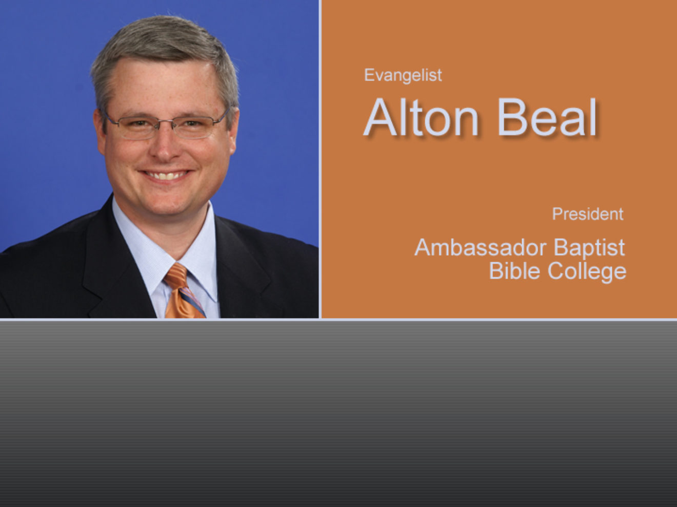 Fall Revival with Alton Beal